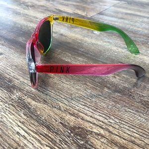 NEW PINK rainbow sunglasses